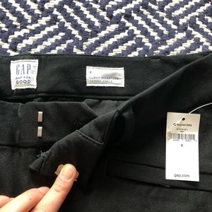 GAP NWT black high rise work pants